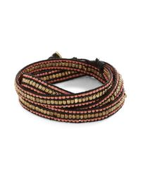 Zad Fashion Inc. - Black Wrapped Up in Whimsy Bracelet - Lyst