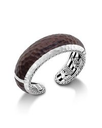 John Hardy - Brown Cuff With Rose Wood - Lyst