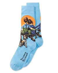 Hot Sox | Blue Hot Socks Men's Little Spooners Socks for Men | Lyst