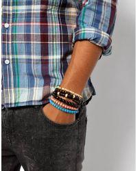 ASOS - Multicolor Beaded Bracelet Pack - Lyst