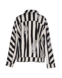 Marco Bologna - Black Denim Outerwear - Lyst