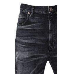 Golden Goose Deluxe Brand - Blue Boyfriend Dark Wash Cotton Denim Jeans - Lyst