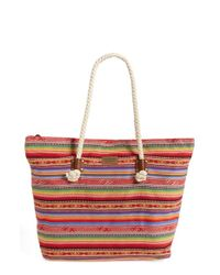 Rip Curl - Red 'sunset Surf' Tote - Lyst
