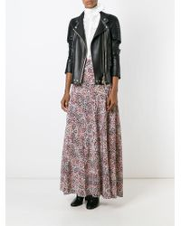 Tory Burch - Multicolor Floral Print Maxi Skirt - Lyst
