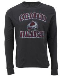 47 Brand - Gray Men's Long-sleeve Colorado Avalanche Flanker T-shirt for Men - Lyst