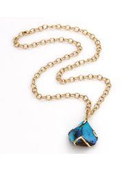 Katherine Jetter | Yellow Boulder Opal Pendant Necklace | Lyst