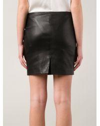 The Row - Black 'Loflon' Skirt - Lyst