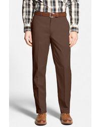 Bobby Jones - Brown Stretch Cotton Pants for Men - Lyst