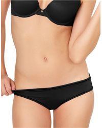 Betsey Johnson | Black Ruched Back Bikinis | Lyst