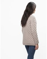 Wool And The Gang | Natural Even Flow Sweater | Lyst