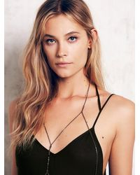 Free People | Metallic Armor Jewelry Womens Lola Body Chain | Lyst