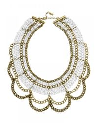 BaubleBar | Metallic The Court Bib | Lyst