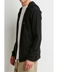 Forever 21 | Black Zip-up Hoodie for Men | Lyst