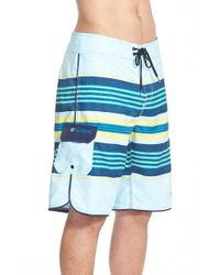 Billabong | Blue 'all Day Stripe' Board Shorts for Men | Lyst