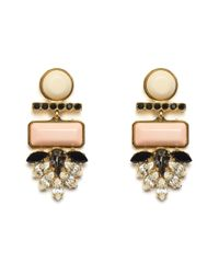 Lizzie Fortunato | Pink Mexico Dahlia Earrings | Lyst