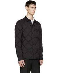 Rag & Bone - Black Quilted Down Mallory Jacket for Men - Lyst