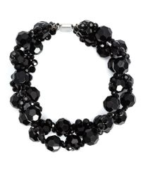 Simone Rocha - Black Crystal Necklace - Lyst