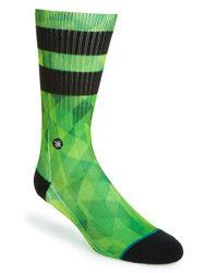 Stance | Green Dwyane Wade & 'Fractal Stripe' Socks for Men | Lyst