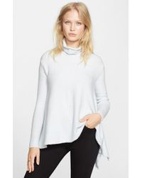 Free People | White Handkerchief Hem Sweater | Lyst