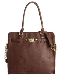 Marc Fisher - Brown Day By Day Belted Tote - Lyst