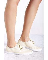 Urban Outfitters | Natural Canvas Lace-up Sneaker | Lyst