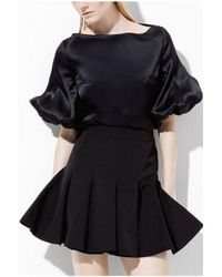 Yde | Bell Shirt Black | Lyst