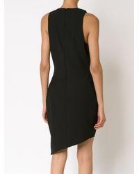 Elizabeth and James - Black Asymmetric Hem Dress - Lyst
