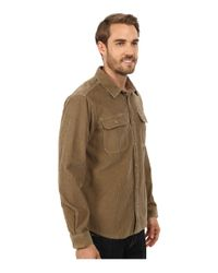 Patagonia | Natural L/s Workwear Shirt for Men | Lyst