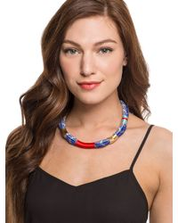 BaubleBar | Blue Maritime Cord Necklace | Lyst