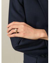 Chloé | Metallic 'darcey Fine' Ring | Lyst