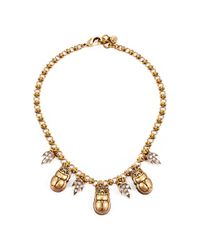 Lulu Frost | Metallic Pharaoh Necklace | Lyst