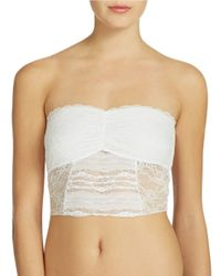 Free People | White Lace Cropped Bralette | Lyst