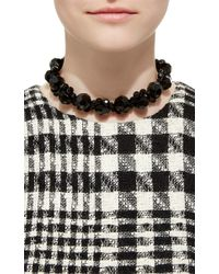 Simone Rocha | Black Beaded Necklace | Lyst