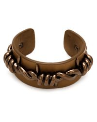 Vivienne Westwood | Brown Barbed Wire Cuff for Men | Lyst