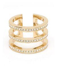 CC SKYE | Metallic Trifecta Ring | Lyst
