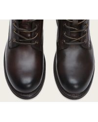 Frye | Brown Sutton Midlace for Men | Lyst