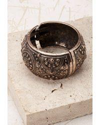 Forever 21 | Metallic Engraved Hinge Bracelet | Lyst