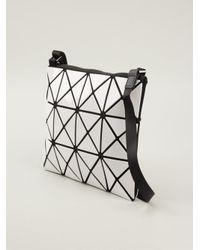 Bao Bao Issey Miyake - White Prism Cross Body Bag - Lyst