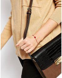 ASOS | Metallic Ditzy Rose Bracelet | Lyst