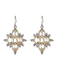 Alexis Bittar - Multicolor Spiked Crystal Drop Earring You Might Also Like - Lyst