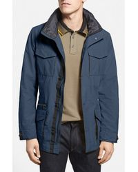Victorinox | Blue 'highlander' Field Jacket for Men | Lyst