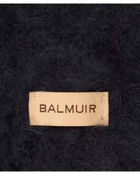 Balmuir - Dark Blue Kid Mohair Scarf - Lyst