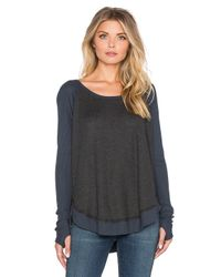 Feel The Piece - Gray Sabel Top - Lyst