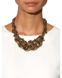 Weekend by Maxmara | Metallic Laghi Necklace | Lyst