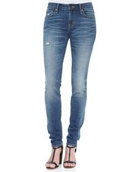 Marc By Marc Jacobs | White Gaia Super Skinny Jeans | Lyst