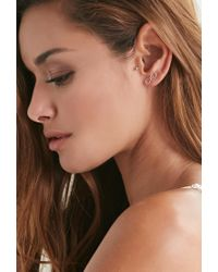 Forever 21 - Metallic Magnolia Infinity Studs - Lyst