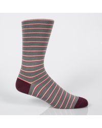 Paul Smith - Multicolor Men's Stripe Socks Three Pack for Men - Lyst