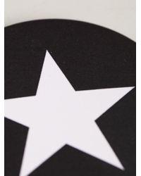 Givenchy - Black Star Print Badge for Men - Lyst