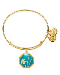 ALEX AND ANI | Metallic Truth And Honor Narcissus Expandable Wire Bangle | Lyst