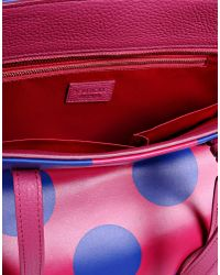 Boutique Moschino | Pink Large Fabric Bag | Lyst